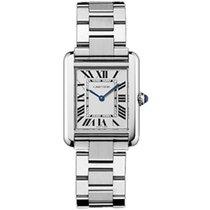 Cartier Tank Solo new Quartz Watch with original box and original papers w5200013