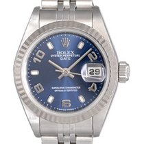 Rolex Ladies Rolex Datejust Watch 69174 with Blue Arabic Dial