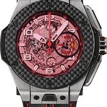 Hublot Big Bang Ferrari Titanium Carbon - 401.nq.0123.vr