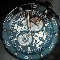 Roger Dubuis Pulsion Chrono Skeleton Titanium/Black DLC