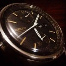 Seiko Chronograph 6138-8020 aka Black Gold Panda Vintage