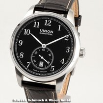 Union Glashütte 1893 Small Second Otel 41mm Negru