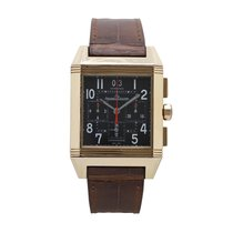 Jaeger-LeCoultre Reverso Squadra Chronograph GMT occasion Or rose