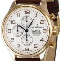 Zeno-Watch Basel Oro rosado 47.5mm Automático 8557TVDD-RG-f2 nuevo