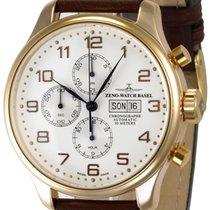 Zeno-Watch Basel OS Retro 8557TVDD-RG-f2 new