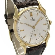 Rolex Oyster Precision pre-owned 32.5mmmm Yellow gold