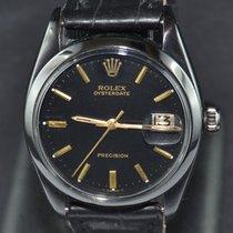 Rolex Oyster Precision Acciaio 34mm Nero Senza numeri Italia, Roma