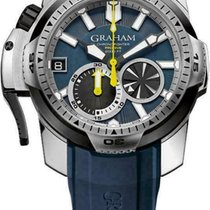 Graham Steel 45mm Automatic 2CDAV.U01A.K87F new