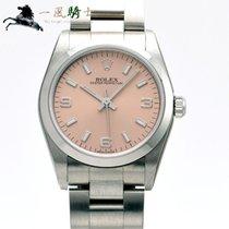 Rolex Oyster Perpetual 31 Aço 31mm Cor-de-rosa