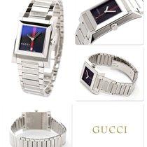 Gucci Сталь 37mm Кварцевые YA111402 новые