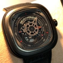 Sevenfriday P3-1 pre-owned Black Leather