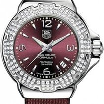 TAG Heuer Formula 1 Lady Staal 37mm Rood Nederland, Huizen