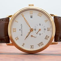 Blancpain Villeret Ultra-Slim Rose gold 40mm Silver United States of America, New Jersey, Englewood
