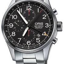 Oris Big Crown ProPilot Chronograph GMT Steel 44mm Black Arabic numerals United States of America, Florida, Miami