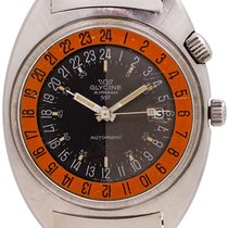 Glycine Steel 41.5mm Automatic 323.1219 pre-owned