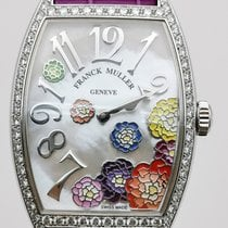Franck Muller Rose gold Quartz Mother of pearl Arabic numerals new Color Dreams