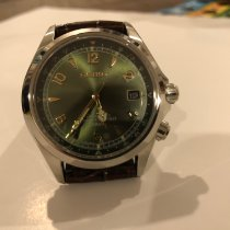 Seiko Spirit Steel 38mm Green Arabic numerals United States of America, New York, Clay