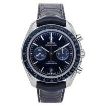 Omega Titanio Automático Azul Sin cifras 44.2mm usados Speedmaster Professional Moonwatch