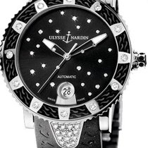 Ulysse Nardin Lady Diver Starry Night Steel Black United States of America, New York, Brooklyn
