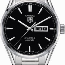 TAG Heuer WAR201A.BA0723 Steel Carrera Calibre 5