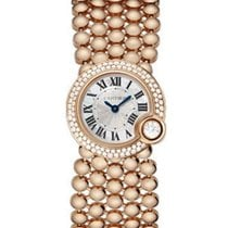 Cartier WE902057 Ballon Blanc de Cartier 34mm Rose Gold with...