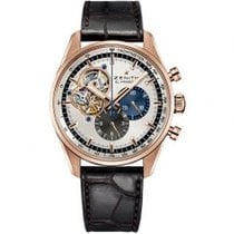 Zenith El Primero Chronomaster Rose gold 42mm Silver United States of America, Pennsylvania, Holland