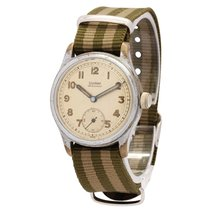 Silvana Military D-H Watch Early Numbering