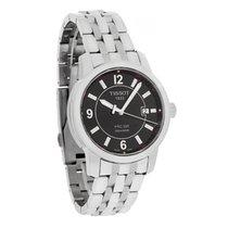 Tissot Mens Prc 200 Black Dial Swiss Quartz Watch T014.410.11....