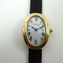 Cartier Baignoire pre-owned 23mm Yellow gold