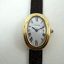 Cartier Baignoire brukt 23mm Gult gull
