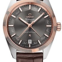 Omega Globemaster Gold/Steel 41mm Grey United Kingdom, Wilmslow