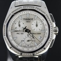 Tissot PRC 100 tweedehands 33mm Staal