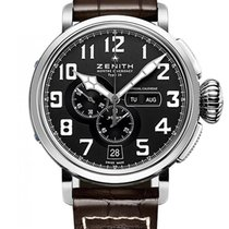 Zenith Pilot Type 20 Annual Calendar Steel 48mm Black