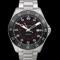 Hamilton Khaki Pilot Steel 44.00mm Black United States of America, California, San Mateo