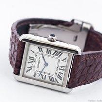 Cartier TANK SOLO 2716 STEEL QUARTZ/BOX&PAPERS