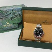 Rolex GMT-Master II Stainless Steel Black Dial Coke Bezel 16710