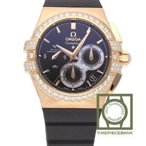 Omega Rose gold Automatic Brown 35mm new Constellation Double Eagle
