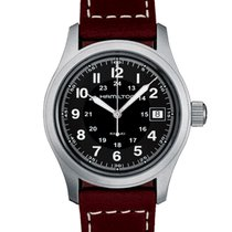 Hamilton H68411533 Steel 2020 Khaki Field 38mm new