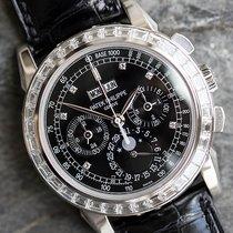 Patek Philippe 5971P-001 Platinum 2010 Perpetual Calendar Chronograph pre-owned