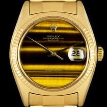 Rolex 1601 Yellow gold 1975 Datejust 36mm pre-owned United Kingdom, London