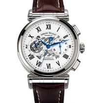 Armand Nicolet Steel 43mm Automatic A424AAA-AG-P974MR2 new