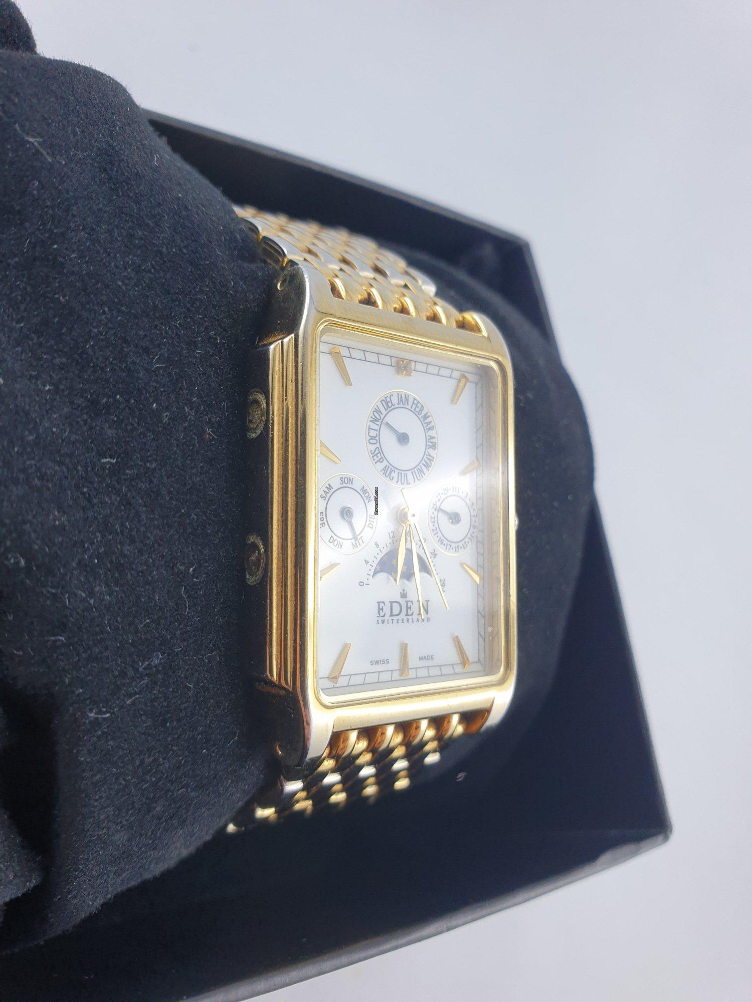 outlet store 1167e 36080 Eden Swiss Made Chronograph 10005H für 79 € kaufen von einem ...