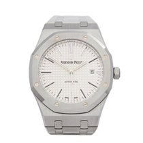 Audemars Piguet Royal Oak Selfwinding Otel 41mm Alb