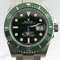 Rolex Submariner Date 116610-LV 2000 pre-owned