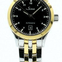 Sinn 456 Gold/Steel 28mm Black