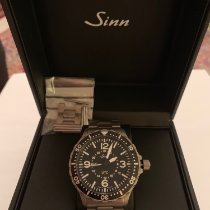 Sinn 856 / 857 Steel 43mm Black Arabic numerals