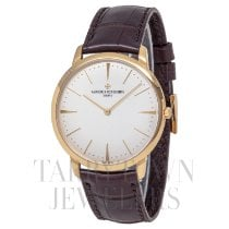 Vacheron Constantin Patrimony Yellow gold 40mm Silver United States of America, New York, Hartsdale