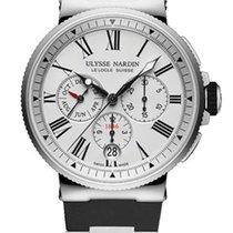 Ulysse Nardin Marine Chronograph Белый