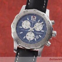 Breitling Colt Chronograph II Stahl 43mm Blau
