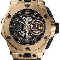 Hublot Big Bang Ferrari Oro amarillo 45mm Transparente